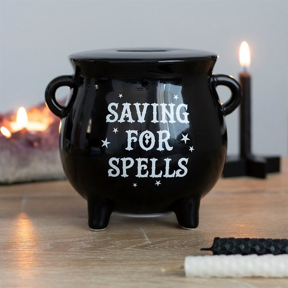 Cauldron Shaped Piggy Bank