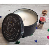 Bamboo Coconut ♋ Cancer Zodiac Birthday soy candle