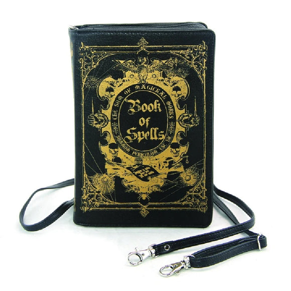 Book of Spells Witchy Clutch Bag
