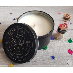 Fig Tree ♊ Gemini Zodiac Birthday soy candle