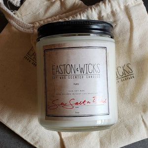Sea Salt n Orchid 7oz Jar Soy Wax Candle