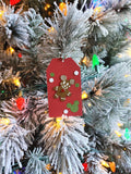 Assorted Set of 10 Disney Inspired Gingerbread Man Mickey Mouse 3D Christmas Gift Tags
