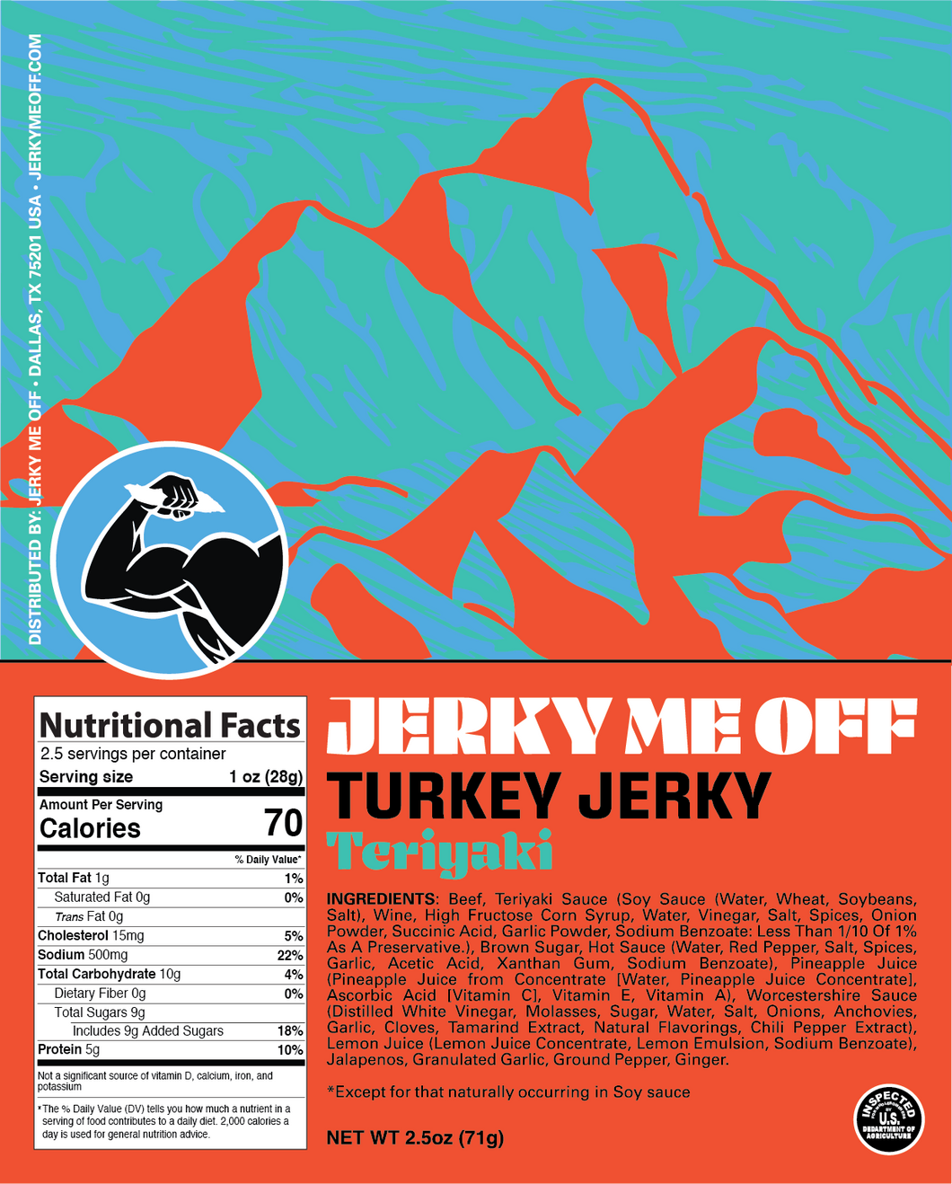 Teriyaki Turkey 3 Pack