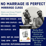 MARRIAGE CLASS - No Marriage is Perfect