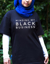Load image into Gallery viewer, Minding My Black Business Tshirt - Short Sleeve & Long Sleeve