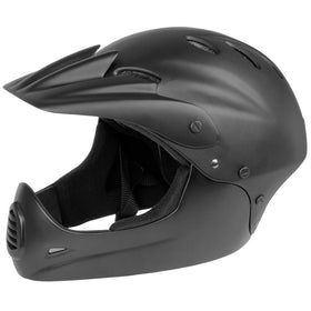 M-Wave Downhillhelm >ALL-IN-1< Gr. M 54-58 cm, matt schwarz