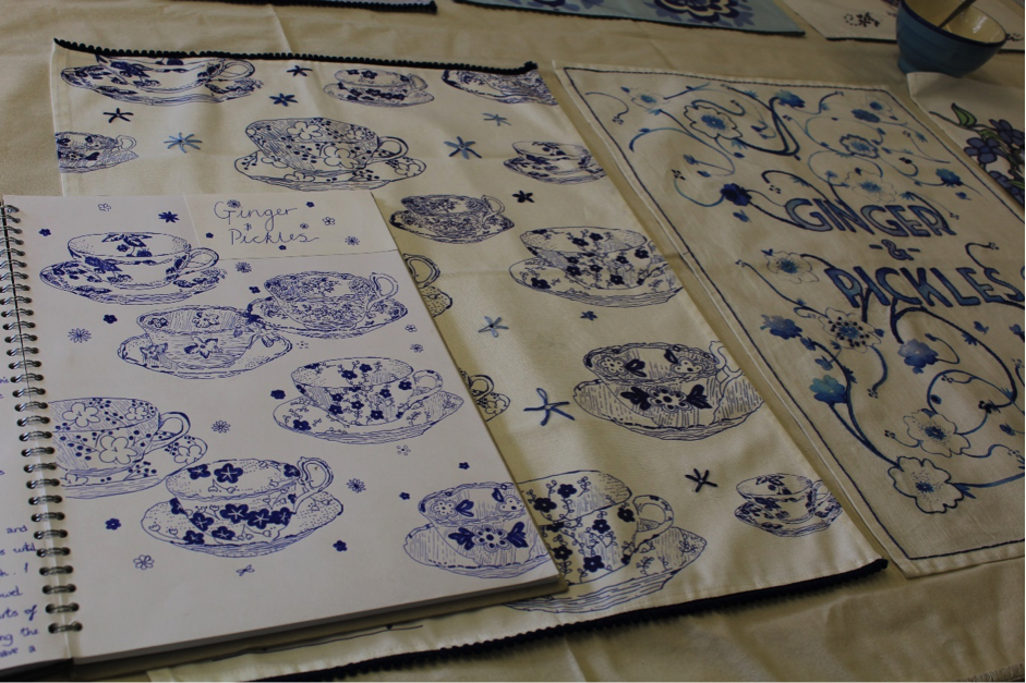Tea Towel Competition Brews Up a Storm at Cheshire's The Grange