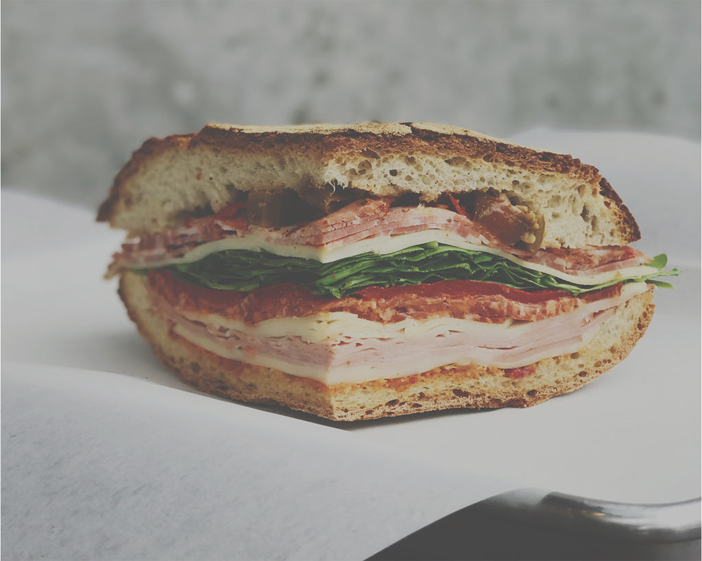 Homemade sandwiches made to order for business catering. Cakes, Lunches and more.