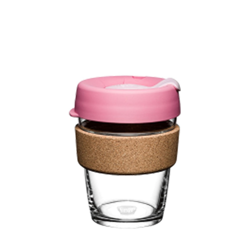 Bubblegum Pink sustainable KeepCup.
