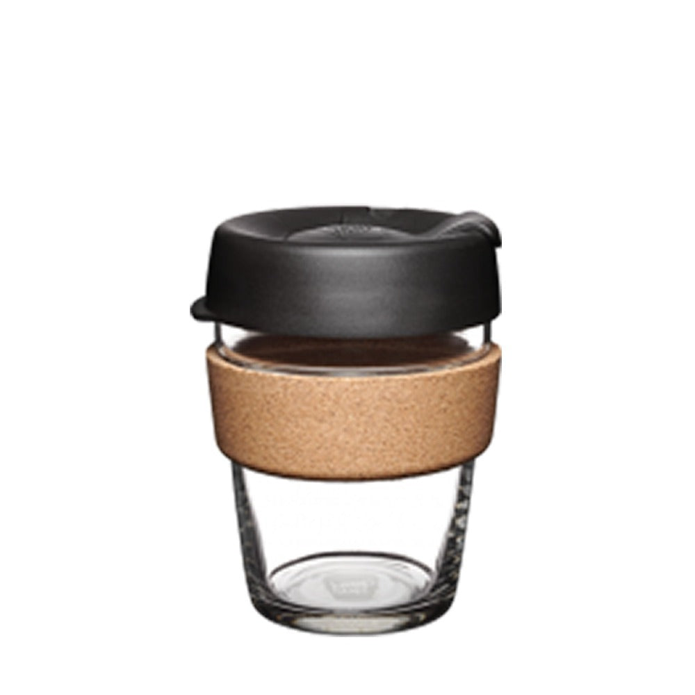 Black sustainable KeepCup.