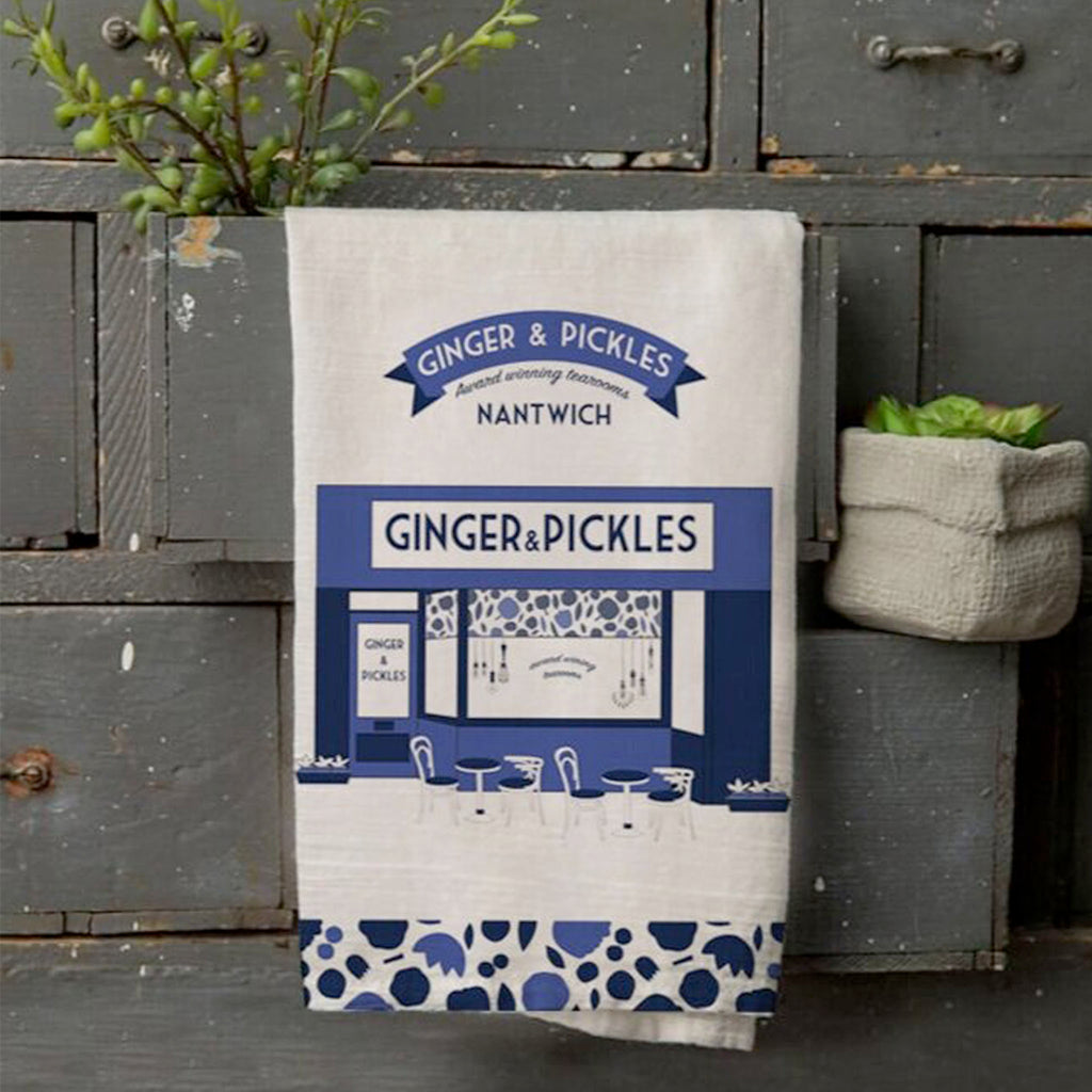 Designed by a local artist, this tea towel makes a perfect addition to any kitchen.