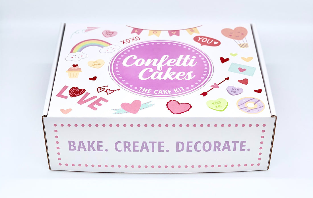 The Cake Kit packaging
