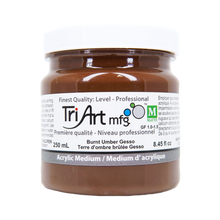 Tri-Art Mediums - Burnt Umber Gesso (4438796795991)