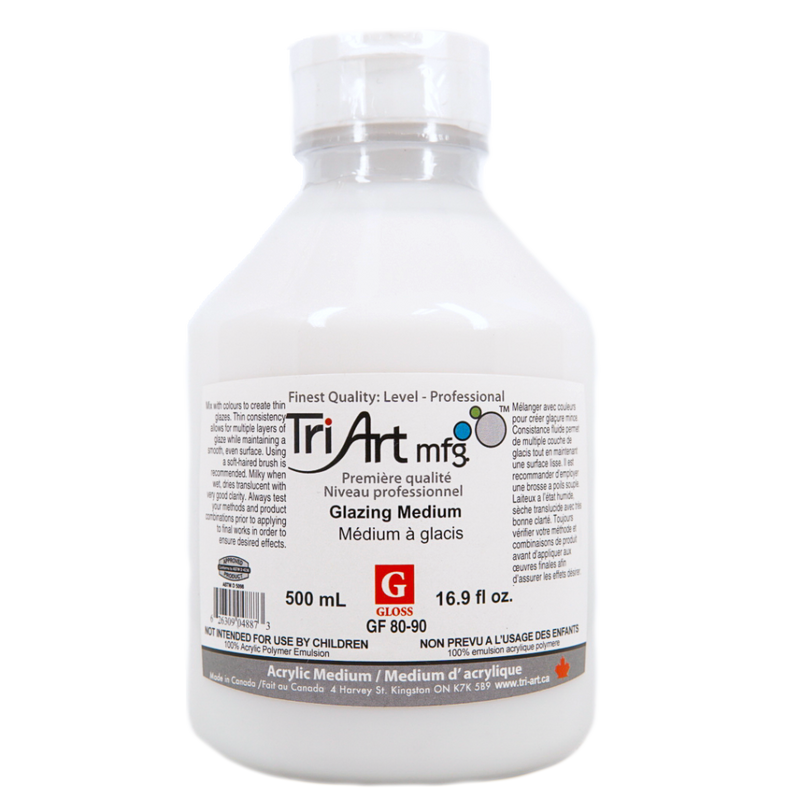 Tri-Art Mediums - Glazing Medium Gloss (4438797451351)