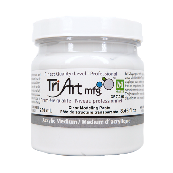 Tri-Art Mediums - Modeling Paste Clear (4438797811799)