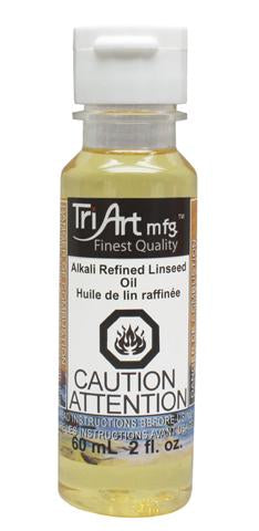 Tri-Art Oils - Alkali Refined Linseed Oil (4438801285207)