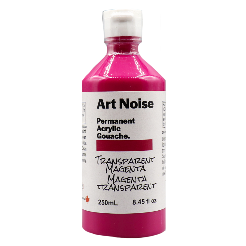 Art Noise - Transparent Magenta