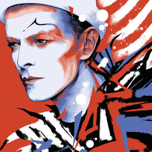 KEN TAYLOR'S PHENOMENAL BOWIE 1980 POSTER RELEASES FRIDAY MARCH 26