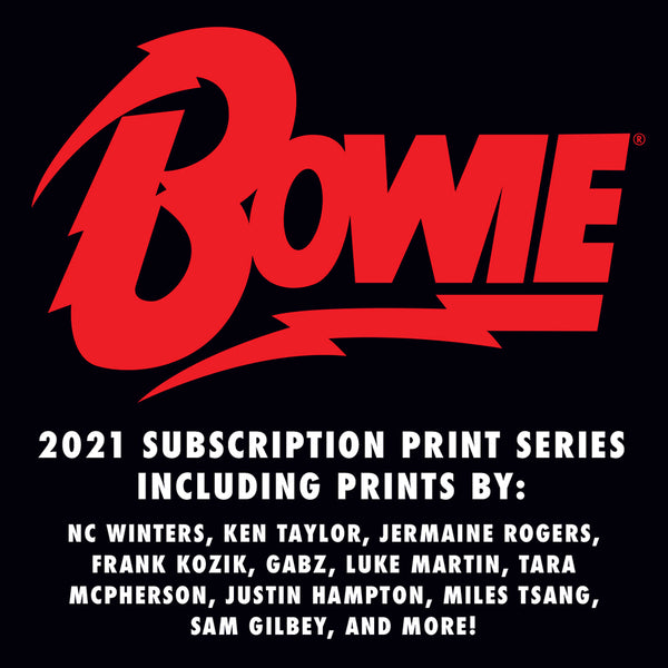 David Bowie 2021 Poster Series Subscription