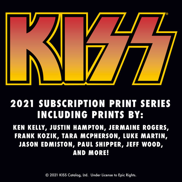 KISS 2021 Poster Series Subscription