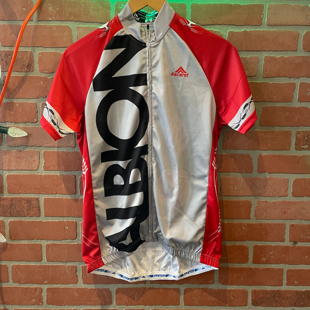 Red & Gray Bike Jersey