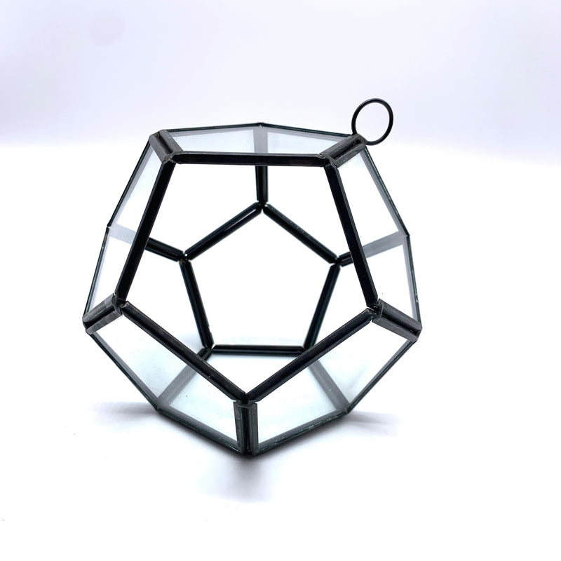 Glass Hanging Pentagon