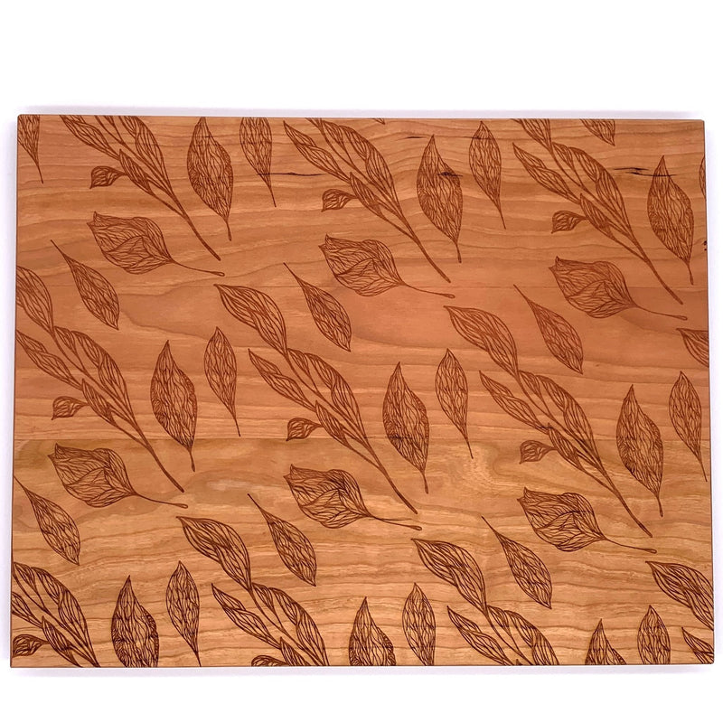Botanical Leaf Cutting Board