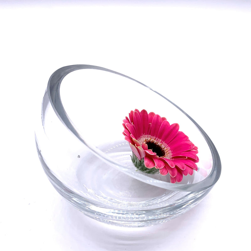 Oblong Blossom Bowl