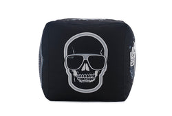 Pouf, Skull by Lazy Life Paris
