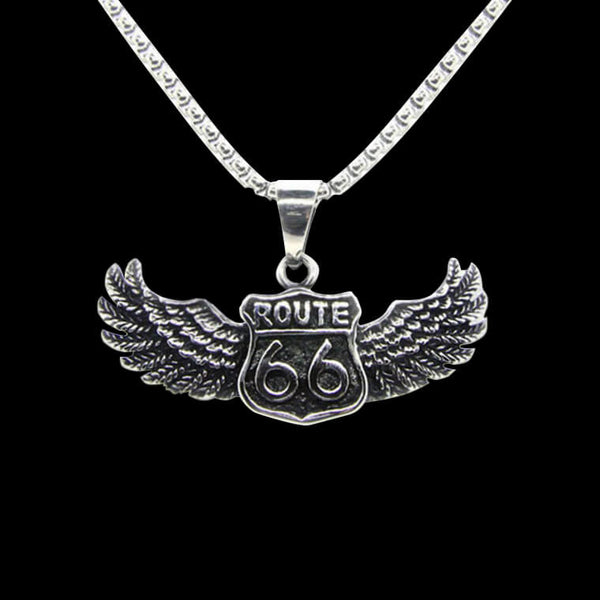 ROUTE 66. - NECKLACE