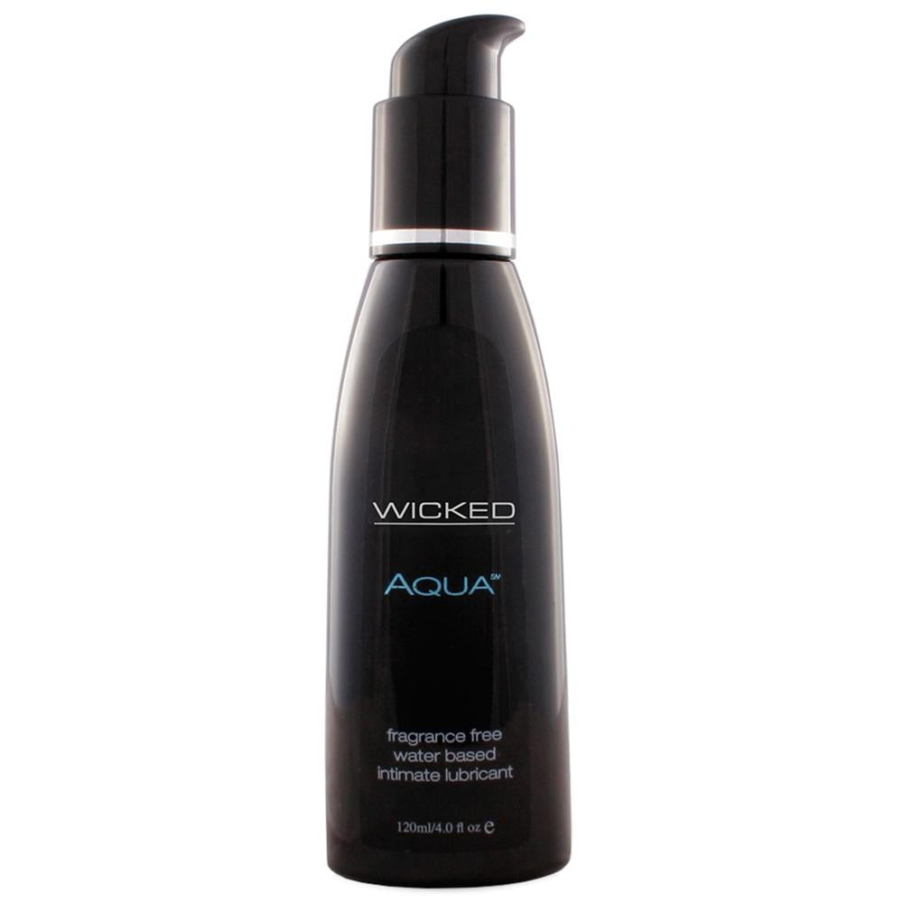 Aqua Condom Safe Lube 4oz/120ml in Fragrance Free - Sex Toys Vancouver Same Day Delivery