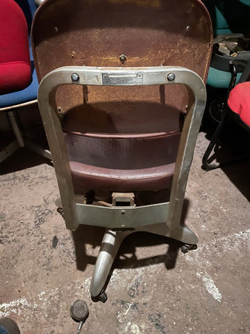 Goodform Vintage Space Age Industrial Desk Chair