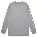 Load image into Gallery viewer, Grey Long Sleeve Tee | Free Shipping