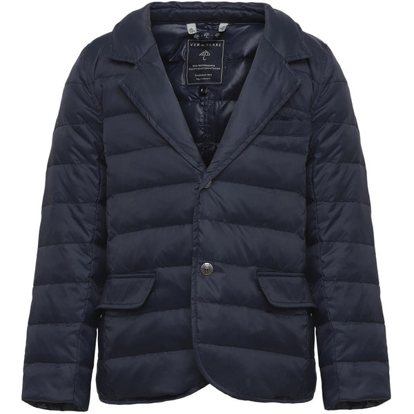 VER de TERRE Featherlight boys spring blazer Jacket 600 Navy