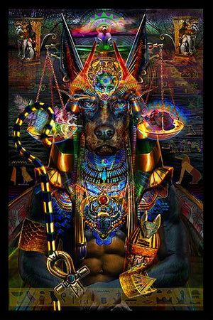 Anubis Tapestry (Egyptian Series)