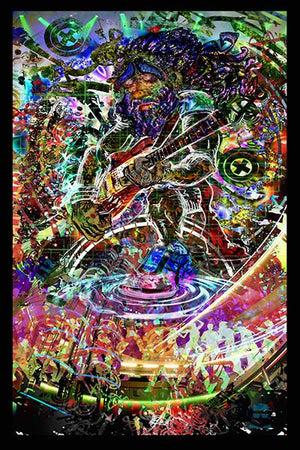 Electric Jam Tapestry