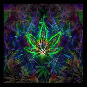 Sweet Leaf Tapestry