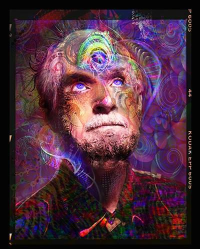 Timothy Leary Tapestry
