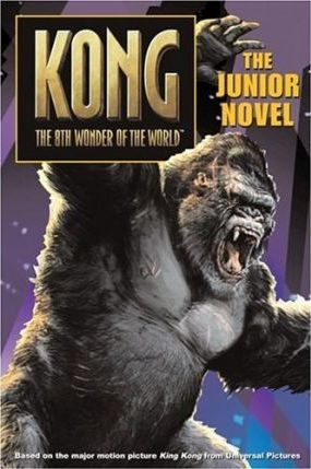 King Kong, The 8th Wonder of the world - paperback fiction, pre-owned, 140 pages