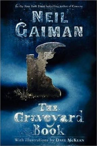 The Graveyard Book - paperback, fiction, 320 pages