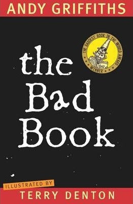 The Bad Book - paperback, fiction, pre-owned, 180 pages