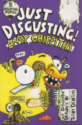 Just Disgusting - paperback children's book (pre-owned) 166 pages