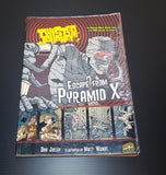 Twisted Journeys Bk 2: Escape From Pyramid X - a paperback graphic novel (pre-owned) 110 pages