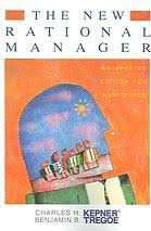 The New Rational Manager - paperback, non-fiction, pre-owned, 242 pages