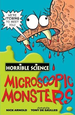 Horrible Science: Microscopic Monsters - paperback, non-fiction, pre-owned, 160 pages