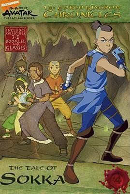 The Earth Kingdom Chronicles: The Tale of Sokka - paperback, fiction, pre-owned, 96 pages