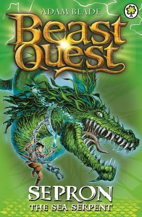 Beast Quest: Sepron the Sea Serpent : Series 1 Book 2 - paperback, fiction, pre-owned, 144 pages