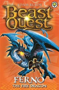 Beast Quest: Ferno the Fire Dragon : Series 1 Book 1 - paperback, fiction, pre-owned, 144 pages