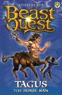 Beast Quest: Tagus the Horse-Man : Series 1 Book 4 - paperback, fiction, pre-owned, 144 pages