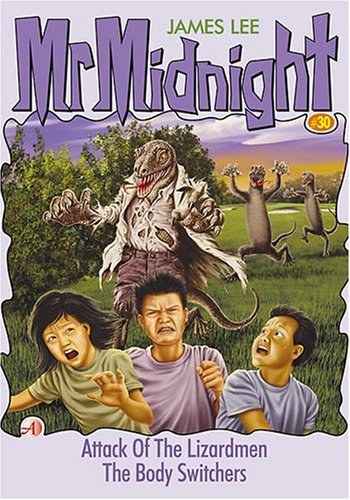Mr Midnight #30: Attack Of The Lizardmen / The Body Switchers - paperback, fiction, pre-owned, 125 pages